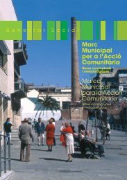 Marc Municipal per l'Acció Comunitària - Ajuntament de Barcelona