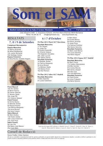 n. 31 - 9 Octubre 2007 - SAM