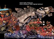 Galerie Epikur Wuppertal Artist in Residence 2008: Siglinde Kallnbach