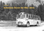 Schweizer Busse der 60er Jahre