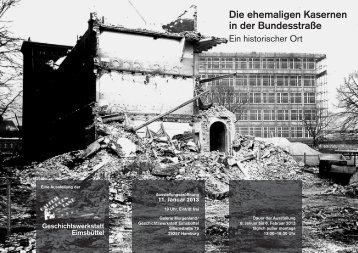 Die ehemaligen Kasernen in der Bundesstraße - Galerie Morgenland