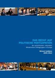 Grundrecht auf politische Partizipation - FUEN