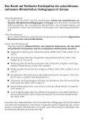Grundrecht auf politische Partizipation - FUEN - Seite 4