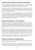 Grundrecht auf politische Partizipation - FUEN - Seite 6