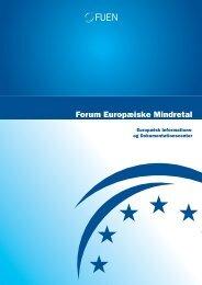 Forum Europæiske Mindretal - FUEN