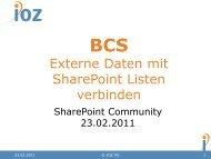 BCS - IOZ AG