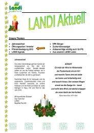 Unsere Themen - LANDI BippGäuThal AG