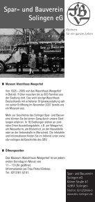 STADTHISTORISCHE WANDERUNGEN UND ... - Stadt Wuppertal - Seite 4