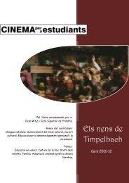 Els nens de Timpelbach - Cinema per a Estudiants