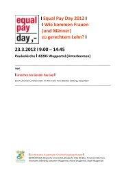Workshop Sarah Lillemeier - Stadt Wuppertal
