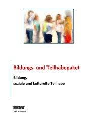 Bildungs- und Teilhabepaket - Stadt Wuppertal