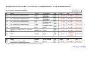 2., 4. und  6. Semester Bachelor - SoSe 2013