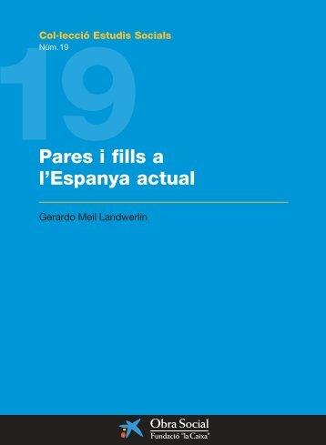 Pares i fills a l'Espanya actual - Infojove