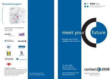 contact 2008 - HTW Chur
