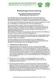 Rahmengartenordnung - Kreisverband der Gartenfreunde Parchim ...