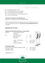 Feste feiern 2013 (PDF)  - Gartenhotel Altmannsdorf