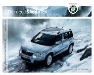 Der neue Škoda Yeti - J.H. Keller AG