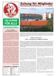 Wohnen wird teurer - GdW - Strategie für bezahlbares ... - Gartenstadt