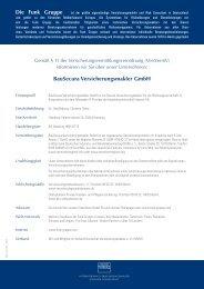 BauSecura Versicherungsmakler GmbH Die Funk Gruppe