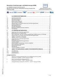 Besondere Vereinbarungen und Bestimmungen (BVB) - Funk Gruppe
