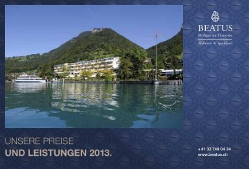 Tagespreise 2013 - Beatus