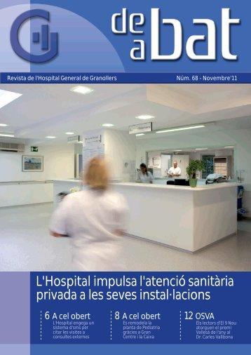 Es presenta la nova farmàcia i el nou laboratori clínic - Hospital ...