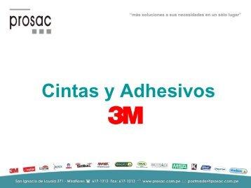 cintas y adhesivos industriales 3m.pdf - PROSAC
