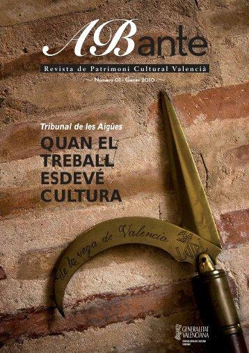 La - Conselleria de Cultura i Esport - Generalitat Valenciana