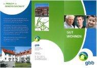 Info-Broschüre der gbb