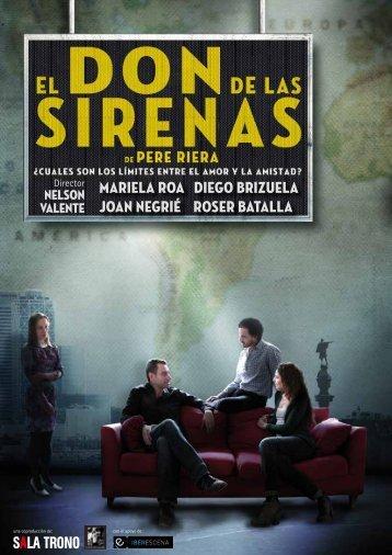 """Dossier prensa """"El don de las sirenas"""""""