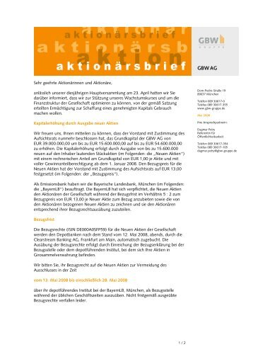 Brief Für Wohnungsbewerbung : Mieterselbstauskunft wohnungsbewerbung gbw gruppe
