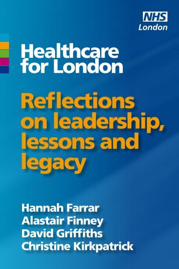 Reflections on leadership, lessons and legacy