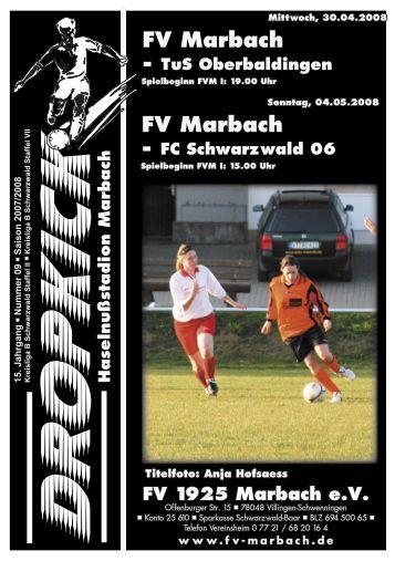 FV Marbach FV Marbach - FV 1925 Marbach e.V.