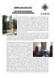Lesen Sie zu diesem Projekt hier mehr - Gustav-Adolf-Werk in ...