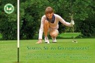 Angebot - Golfclub Schloss Myllendonk eV
