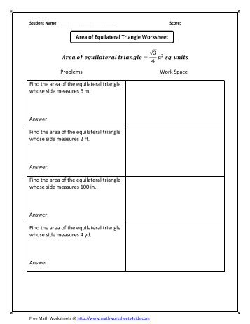 Find The Area Of The Following Trapezoids Math Worksheets For Kids