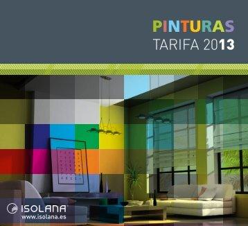 Isolana - Catálogo pinturas