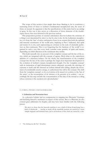 discourse on metaphysics by leibniz essay
