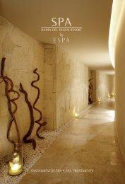 tratamientos spa • spa treatments - Gran Hotel Bahía del Duque