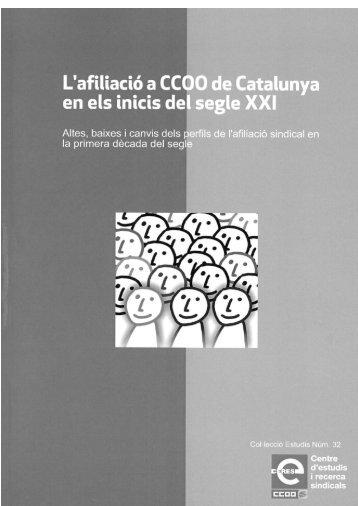 32. Estudis - CCOO de Catalunya