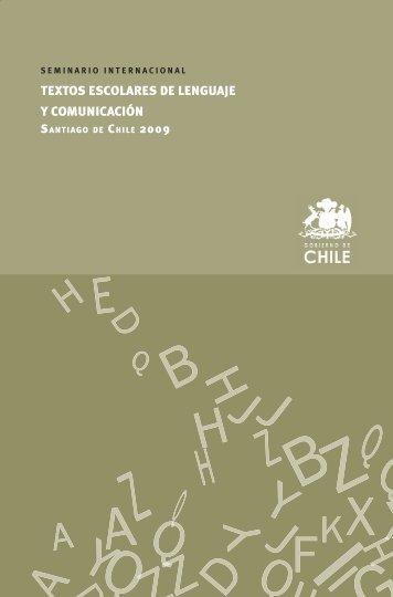 Seminario Internacional sobre textos de ... - Textos Escolares
