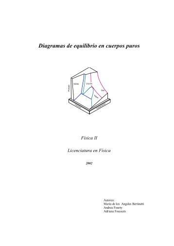 Diagramas de equilibrio en cuerpos puros - Web del Profesor