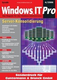 Server-Konsolidierung Server-Konsolidierung - Guntermann und ...