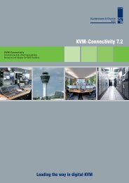 KVM-Connectivity 7.2 - Guntermann und Drunck GmbH