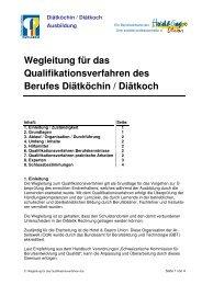 Diätköchin / Diätkoch Ausbildung - Hotel & Gastro Union