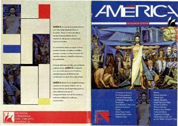 REVISTA LITERARIA DEL GRUPO AAAÉRICA - Grupo América
