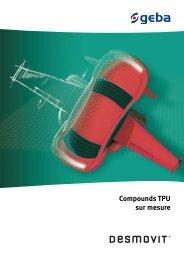 Compounds TPU sur mesure - geba Kunststoffcompounds GmbH
