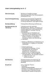 Leistungskatalog als PDF-Datei herunterladen