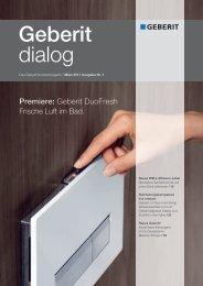Geberit dialog