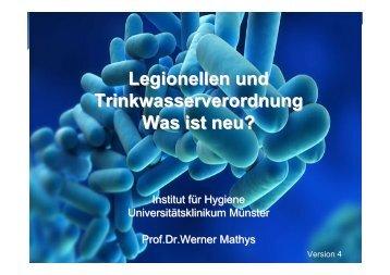 Legionellen und Trinkwasserverordnung Was ist neu? - Dietsch + ...